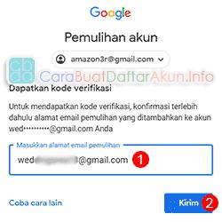 cara mengembalikan akun gmail yang dinonaktifkan