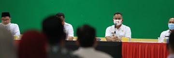 Walikota Melepas Khafilah MTQ Kota Tarakan Untuk Bertanding di MTQ Ke V Provinsi Kaltara
