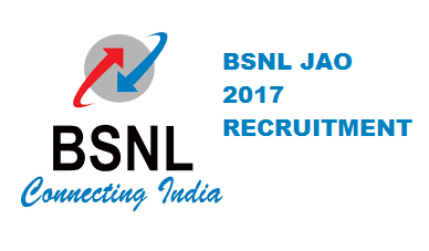 BSNL JAO Recruitment 2017 Out