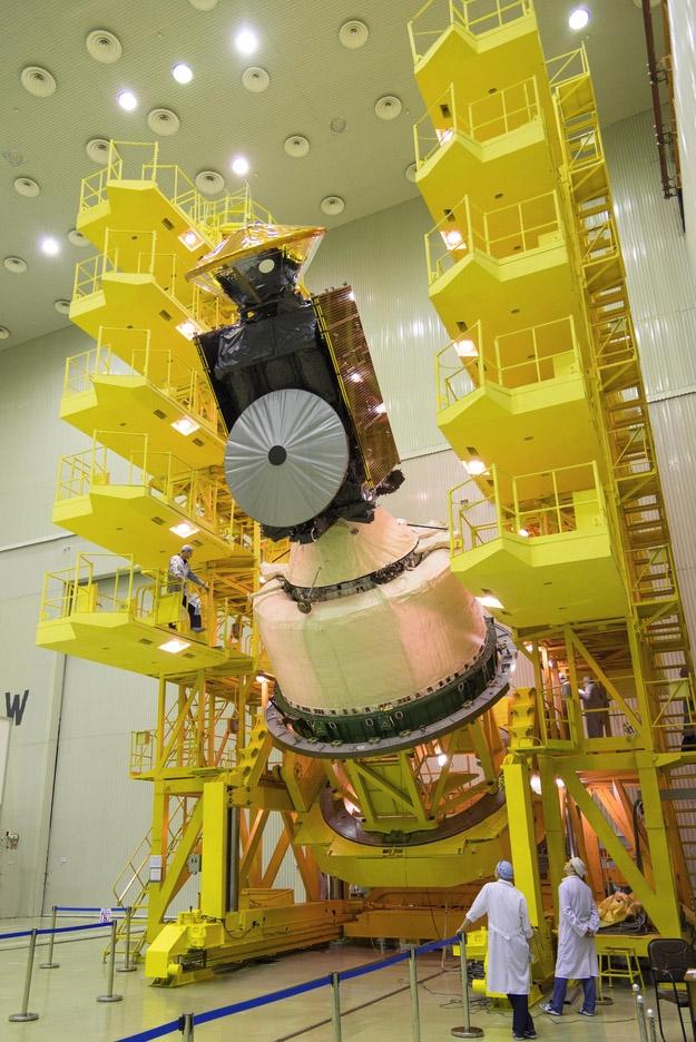 Nave Espacial exoMars 2016 - ESA - B. Bethge