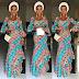 Creative Ankara Gown Style fr Ladies