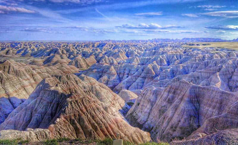 South Dakota, Black Hills, National parks, Badlands