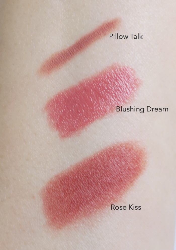 Charlotte Tilbury The Pretty Pink Lipstick Set swatches