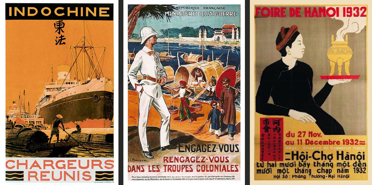 Tranh vẽ quảng cáo du lịch Việt Nam đặc sắc thời Pháp thuộc