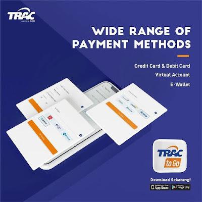 Metode pembayaran TRAC to Go