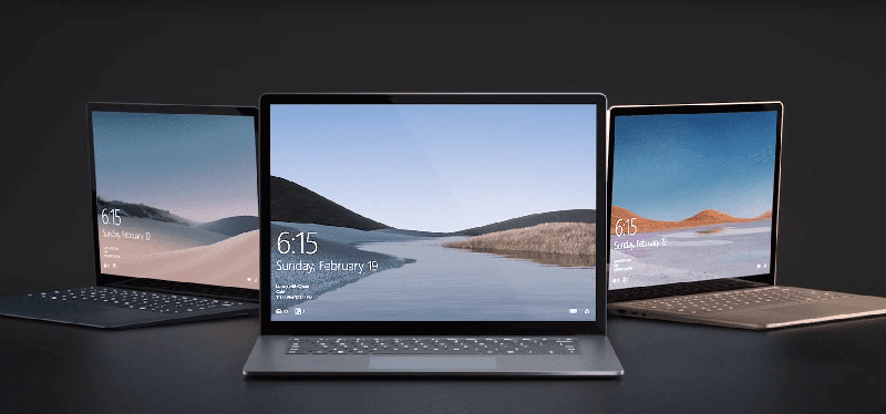 There are two variants for the Microsoft Surface Laptop 3