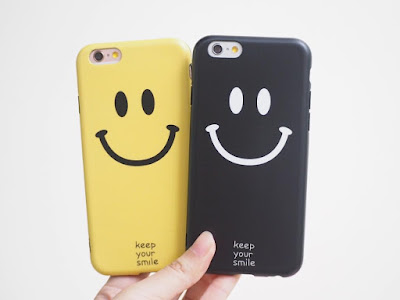 casing custom smiley icon