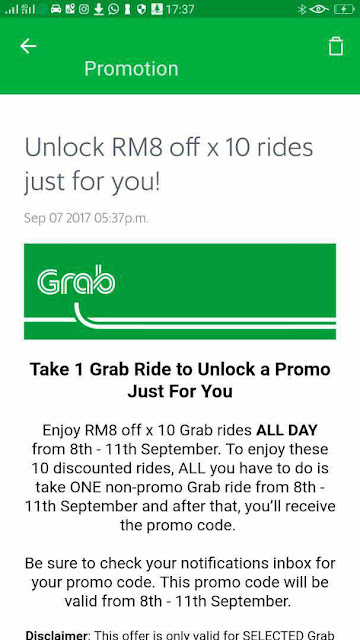 Free Grab Promo Code Malaysia Discount Offer