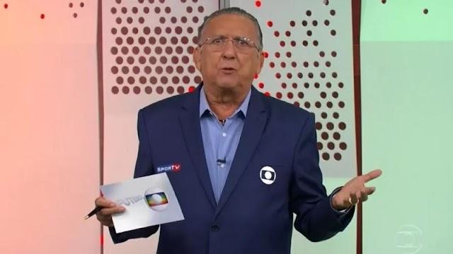 Justiça bloqueia contas bancárias de Galvão Bueno para pagamento de dívida, diz jornal