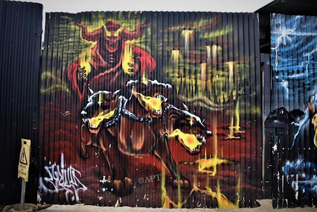 Greeveston Street Art   Murals by Jake Seven