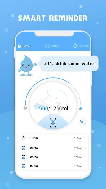أفضل تطبيقات اندرويد - فوائد شرب المياه
