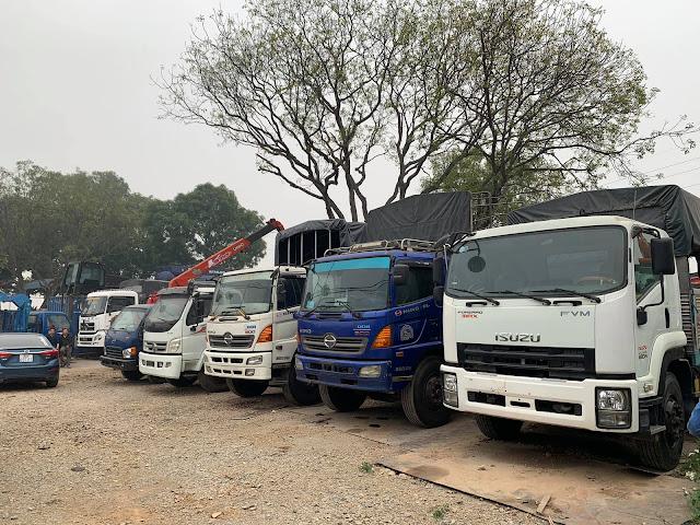 Miễn thu phí đường bộ xe tải do cơ quan nhà nước thanh lý