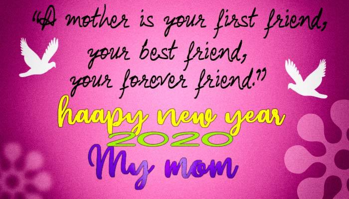 happy new year mom