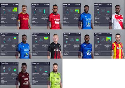 PES 2021 Ligue 1 Facepack Vol 11
