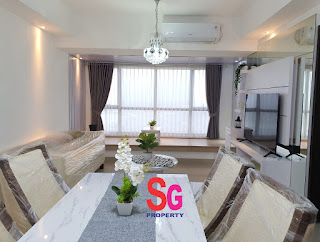 Unit-Apartemen-Type-2-Bedroom-full-Furnish