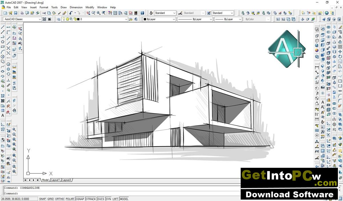 autocad 2007 free download  install full version