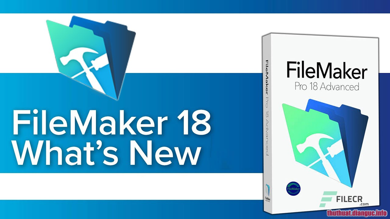 Download FileMaker Pro 18 Advanced 18.0.2.209 Full Crack