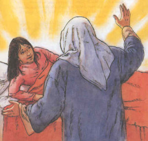 Gesù risuscita una fanciulla