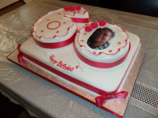 96 Any Number Gold Glitter 60th Birthday Cake By