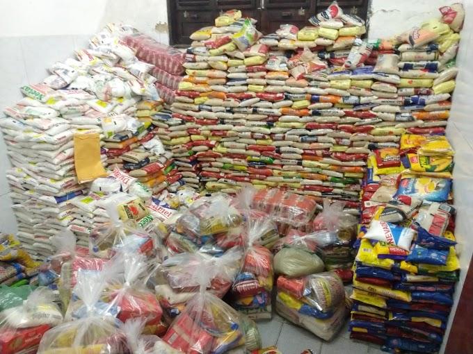 Prefeitura de Japi já beneficia moradores do município com alimentos que foram arrecadados na festa de São Sebastião