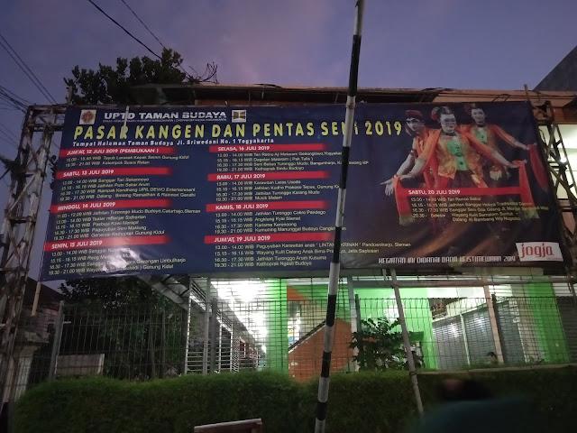 Jadwal Pasar Kangen Jogja 2019