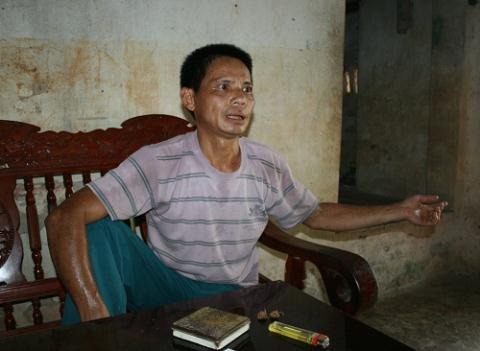 Đối tượng Cù Văn Thanh.