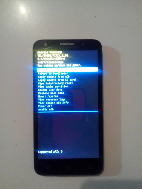 Restablecer un Alcatel One Touch Pixi 4