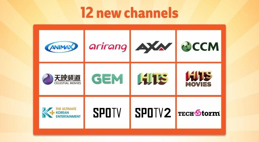 Unifi TV Memperkenalkan 12 Saluran Baru Bermula 1 Oktober Ini