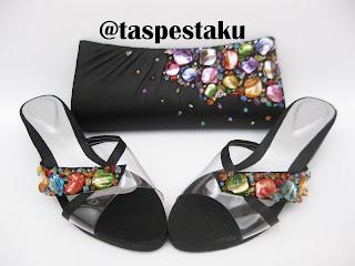 Terbaru Sandal Pesta Matching dengan Tas Pesta