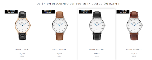 Black Friday 2018 ofertas Daniel Wellington