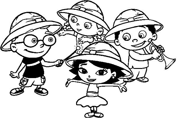 little einsteins online coloring pages - photo #19