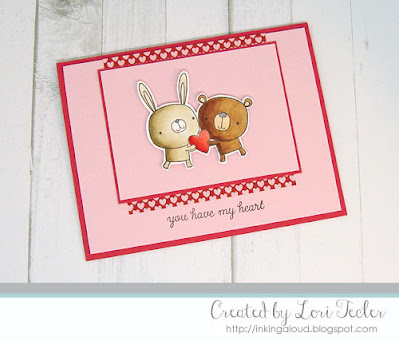 You Have My Heart card-designed by Lori Tecler/Inking Aloud-stamps from Reverse Confetti