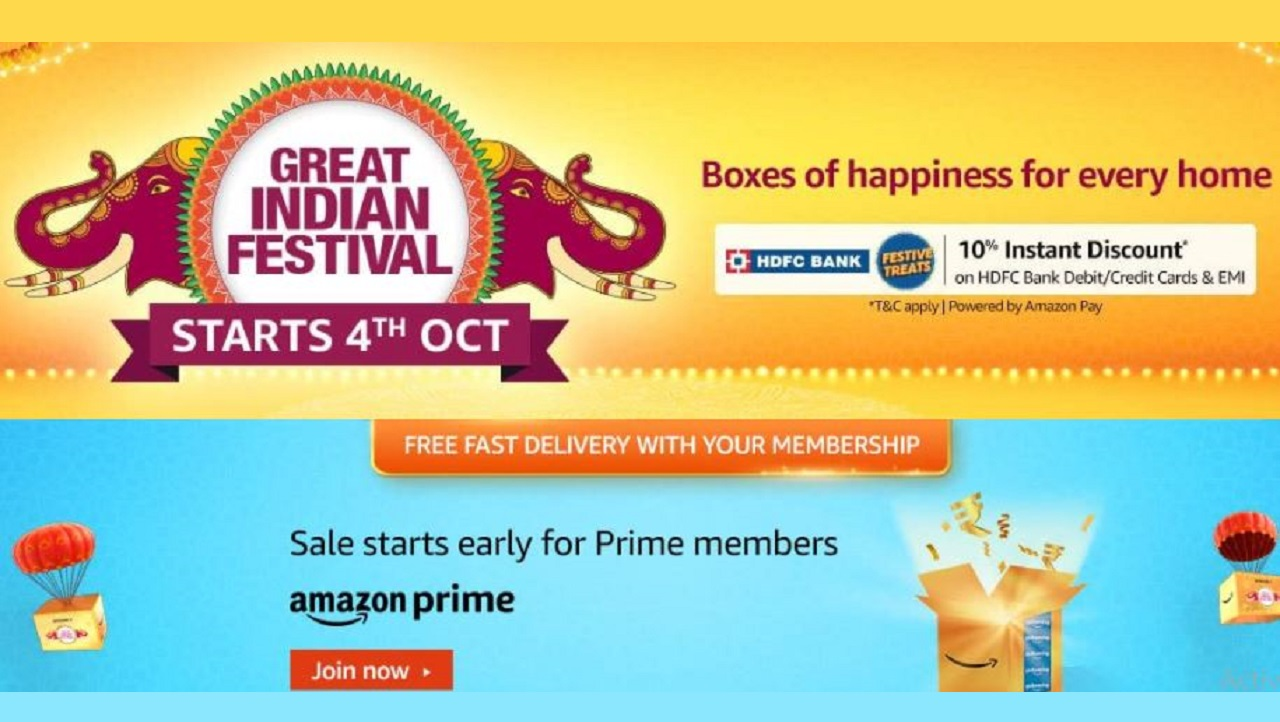 Amazon Great Indian Festival Sale Date 2021 announced