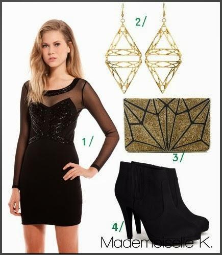 4 id es de tenues pour les f tes. Black Bedroom Furniture Sets. Home Design Ideas