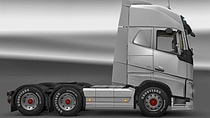 New Volvo FH 6×2-4 Sideskirts