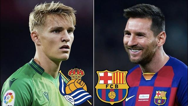 مشاهدة مباراة برشلونة وريال سوسييداد بث مباشر