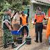 Babinsa Koramil 16/Wanareja Bantu Droping 10.000 Liter Air Bersih Untuk Warga Tambaksari