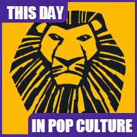 """The Lion King"" Opened on Broadway on November 13, 1997."
