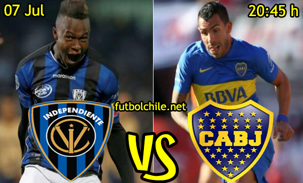 VER STREAM SEÑAL YOUTUBE RESULTADO EN VIVO, ONLINE: Independiente del Valle vs Boca Juniors
