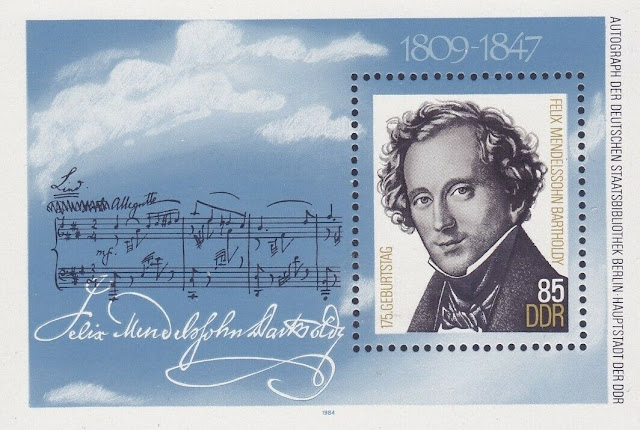 East Germany Felix Mendelssohn