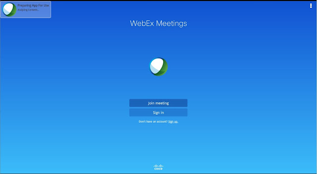 Apps for android : Cisco WebEx Meeting