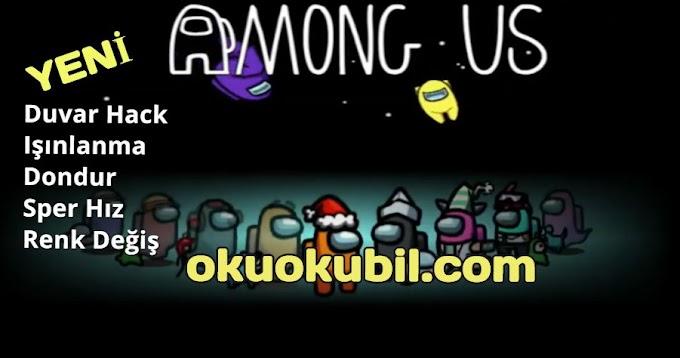 Among Us v2020.9.9 Duvar Hack, Işınlanma, Dondur, Süper Hız, Renk Değiş Apk Mod Menü