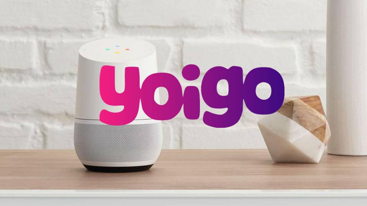 Yoigo lanza el asistente de voz de Google