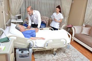 Evde Hasta Bakımı Bölümü çalışma olanakları