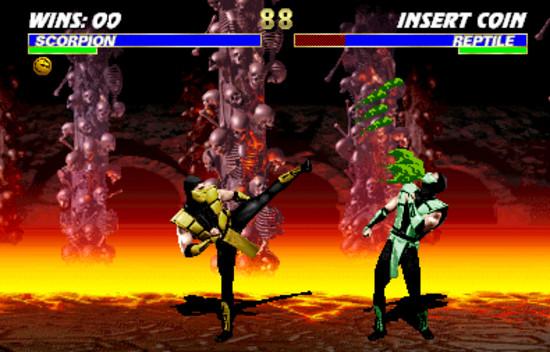 لعبة القتال الرهيبة ultimate mortal kombat 3 بمساحة 3 ميجا