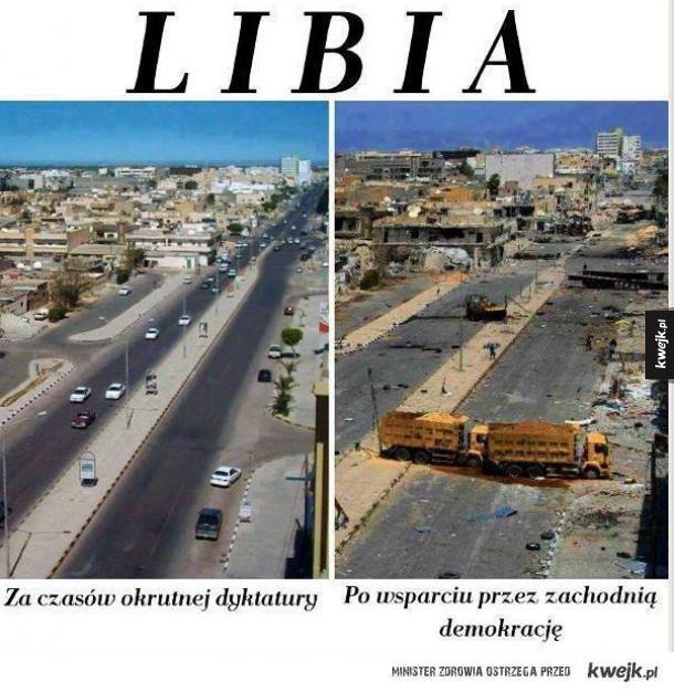 libia dzisiaj i wczoraj