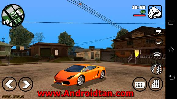 Free Download Grand Theft Auto: San Andreas Mod Apk Android v1.08 Terbaru 2017 Gratis