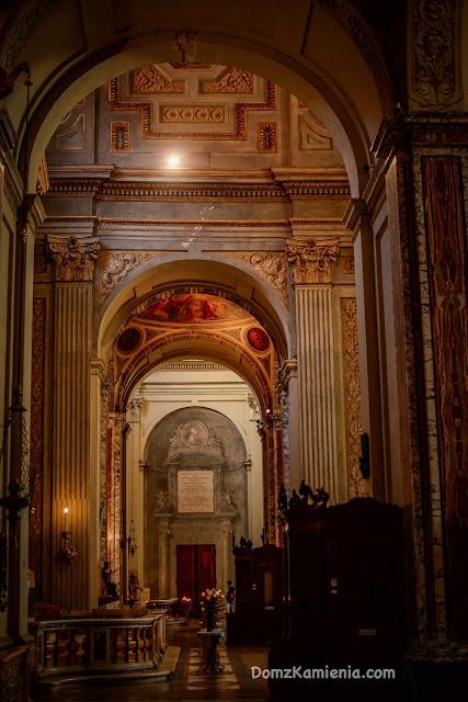 San Pietro katedra Bolonia Dom z Kamienia