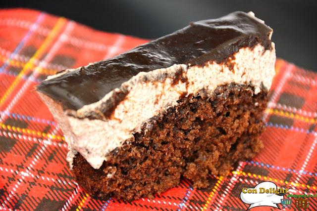 chocolate and mousse cake עוגת מוס ושוקולד