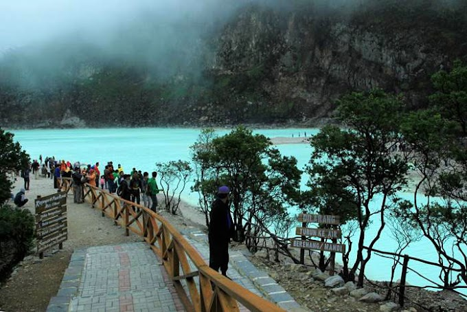 Rekreasi Di Kawah Putih Ciwidey Bandung